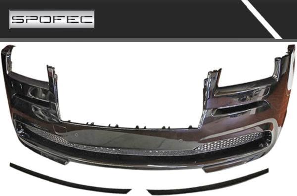 【M's】ROLLS ROYCE レイス (2013.4y-) 6.6 NOVITEC製 SPOFEC フロントバンパー (カーボン/要塗装)// ロールスロイス Wraith ノビテック製 未塗装 受注 ノヴィ 前 (No:R6 111 03) F 高品質 新品