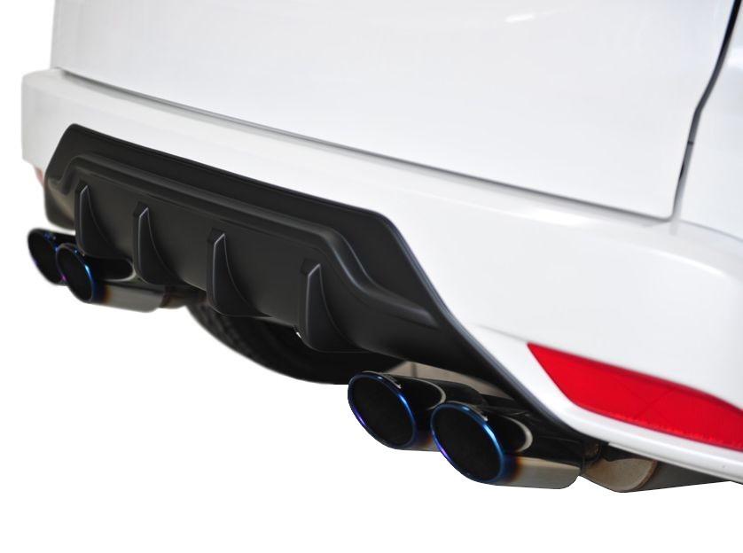 【M's】ホンダ ヴェゼル ハイブリッド リア ディフューザー ABS製 未塗装 / リヤ バンパー ガーニッシュ / HONDA VEZEL hybrid / NOBLESSE ノブレッセ