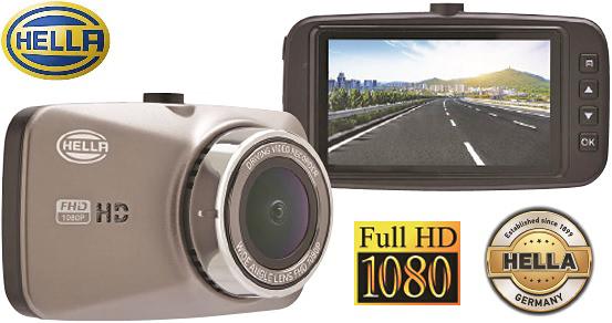 【M's】HELLA製 ドライブレコーダー DR520 (フルハイビジョン対応)//2.7インチ LCDワイドディスプレイ ドイツ製 ヘラ ドライブ レコーダー ドラレコ 防犯カメラ 乗用車 自家用車 トラック 315601