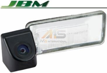 【M's】アウディ Q7 4L(2007y-2009y)JBM製 CCD リアビューカメラ(ナンバー灯レンズ交換タイプ)//AUDI 社外品 リアカメラ バックカメラ 322631