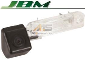 【M's】VW イオス 1F(2006y-2009y)/シロッコ 13C(-2009y)/パサート 3B(1997y-2006y)/パサートセダン 3C(2006y-2009y)/パサートCC(-2009y)JBM製 CCD リアビューカメラ(ナンバー灯レンズ交換タイプ)//台形レンズ車 社外品 リアカメラ バックカメラ 322591