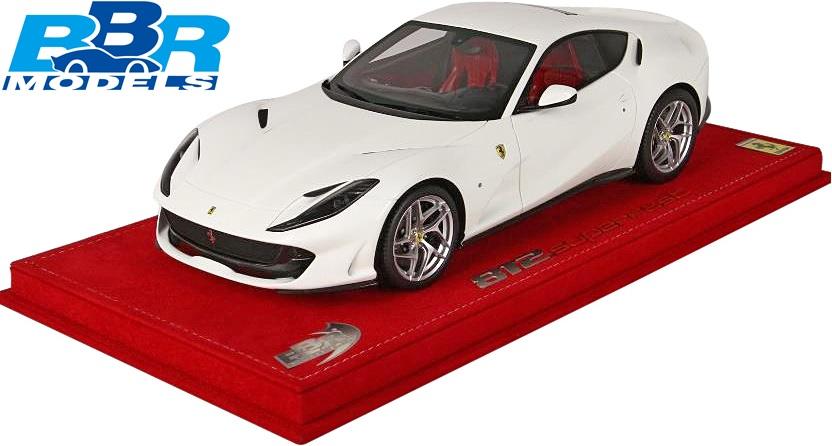 【限定品:20台】1/18 BBR Ferrari 812 Superfast (avus white) ミニカー 完成品//1:18 フェラーリ812 スーパーファスト ホワイト 新品 P18147AW2