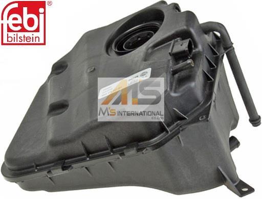 【M's】アウディ Q7(4L)BEHR製 ラジエーターサブタンク//純正OEM ラジエターサブタンク リザーブタンク AUDI 3.0TDI/4.2TDI 7L0-121-407F 7L0121407F