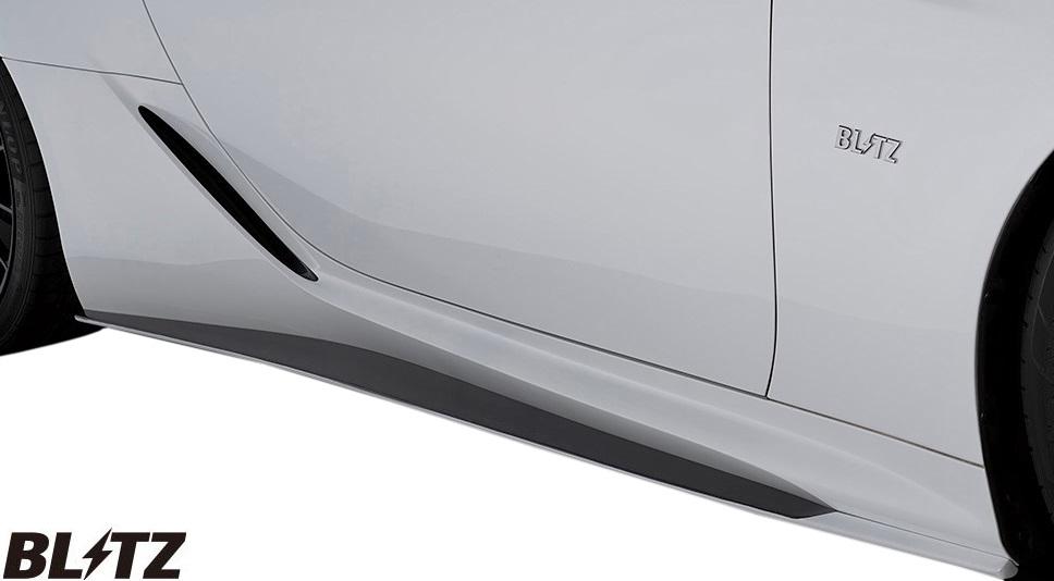 【M's】レクサス LC500/LC500h (2017/03-)BLITZ AERO SPEED サイドスカート 左右//FRP URZ100 GWZ100 2UR-GSE 8GR-FXS ブリッツ エアロスピード R-Concept エアロ パーツ エアロパーツ サイドステップ サイドスポイラー LEXUS LC 社外品 受注生産品 60287
