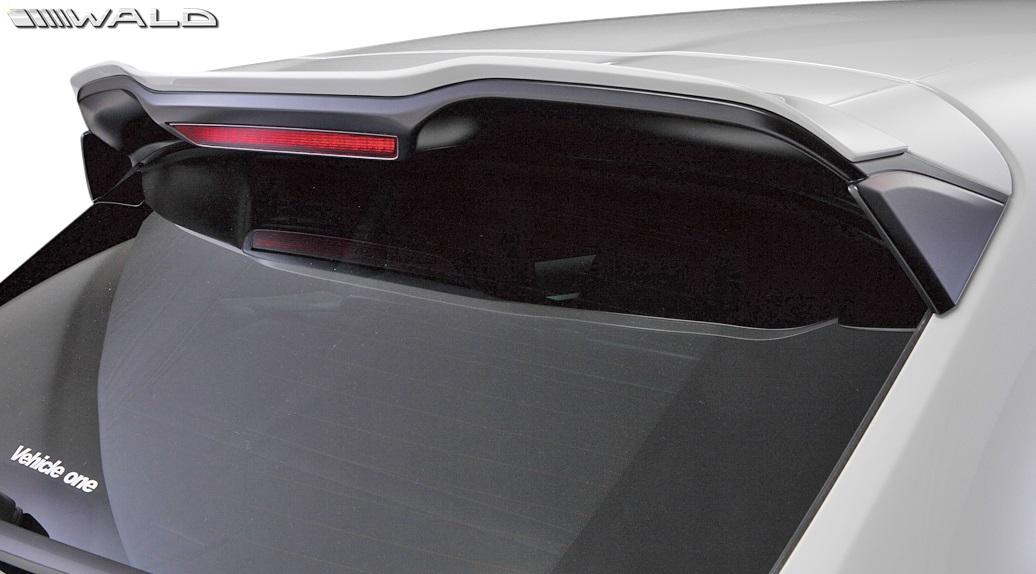 【M's】ポルシェ カイエン 958 (2012y-2014y)WALD Black Bison ルーフスポイラー//※GTS不可 PORSCHE CAYENNE ヴァルド バルド ブラックバイソン エアロ パーツ ウイング 958カイエン カイエン958 前期 未塗装 受注生産品