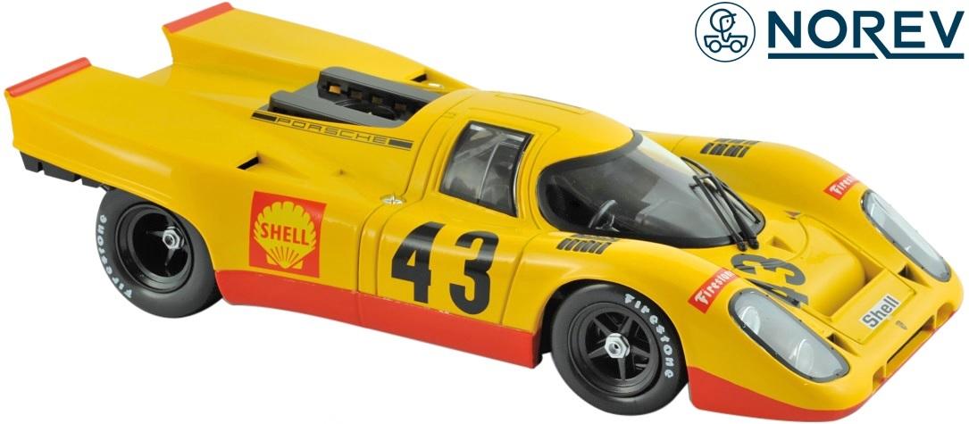 【NOREV】ノレブ 1/18 ポルシェ 917K AAW スパ=フランコルシャン 1970y ミニカー 完成品//1:18 Porsche ダイキャスト 新品 未開封品 玩具 車 名車 187585 3551091875857
