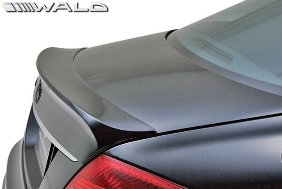 【M's】W216 ベンツ CLクラス 前期(2006y-2010y)WALD Black Bison Edition トランクスポイラー//C216 CL550 CL600 クーペ FRP ヴァルド バルド エアロパーツ ウイング ブラックバイソン エアロ 未塗装 受注生産品