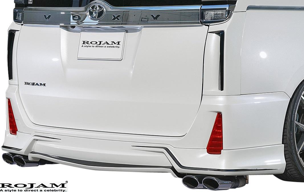 【M's】トヨタ ヴォクシー 80系 後期 ZSグレード (2017/7-) ROJAM IRT リアリップスポイラー//ロジャム エアロ FRP ボクシー VOXY ZRR80W 80 85 80ヴォクシー ヴォクシー80 80ボクシー ボクシー80 アイアールティー リアスポイラー リアスカート バンパー