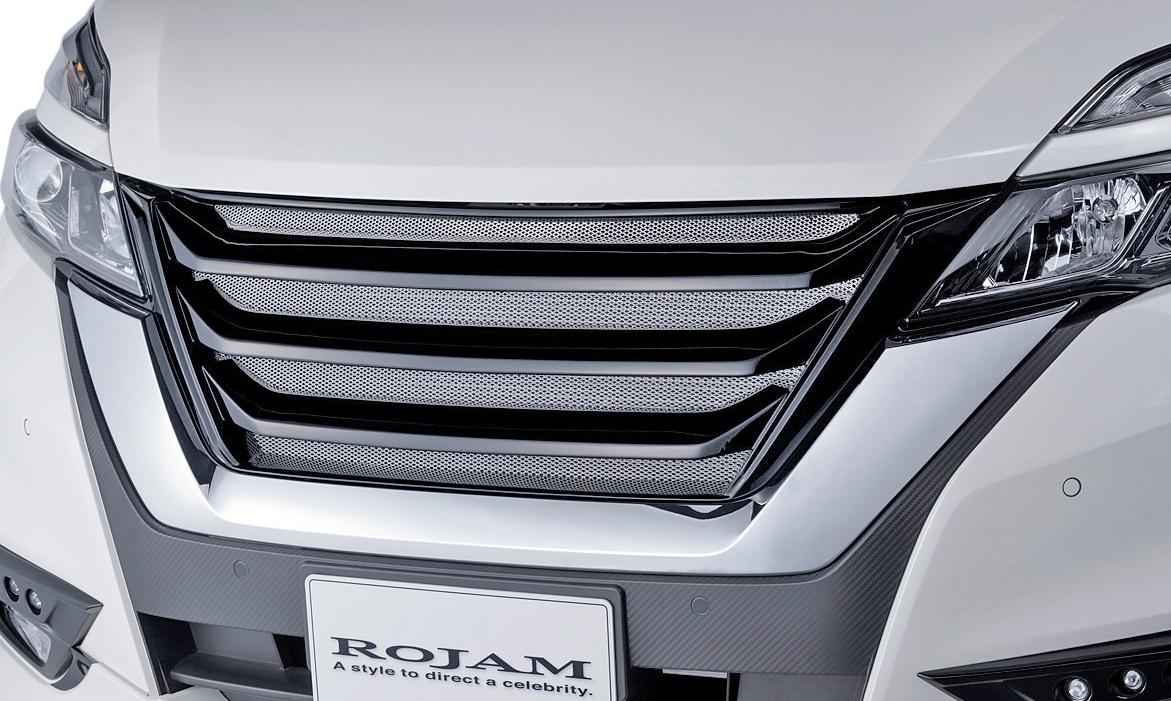 【M's】日産 セレナ C27 (2016/8-) ROJAM IRT フロントグリル//FRP 未塗装 ロジャム アイアールティー エアロ ラジエターグリル ラジエーターグリル NISSAN セレナC27 C27セレナ ハイウェイスター 未塗装 受注生産品
