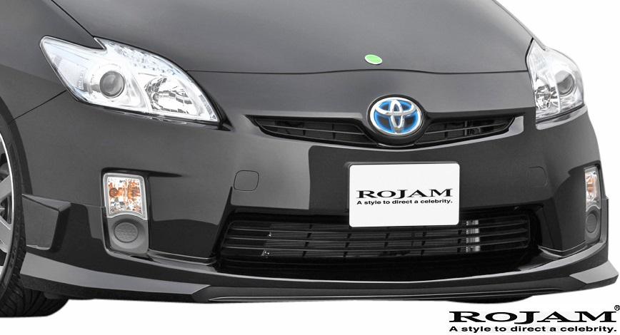 【M's】トヨタ プリウス 30系 前期 (2009/5-2015/12) ROJAM IRT フロントリップスポイラー//ZVW30 FRP ロジャム エアロ エアロパーツ フロントスポイラー TOYOTA PRIUS 30 プリウス30 30プリウス 未塗装 受注生産品 21-fs-pr301 21fspr301