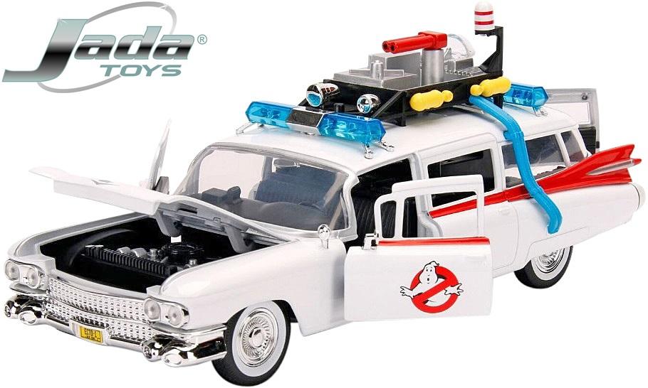 【Jada Toys】 1/24 ゴーストバスターズ ミニカー エクト1-A ミニカー 完成品//1:24 GHOST BUSTERS/ ECTO-1 JD99731 4580470084220