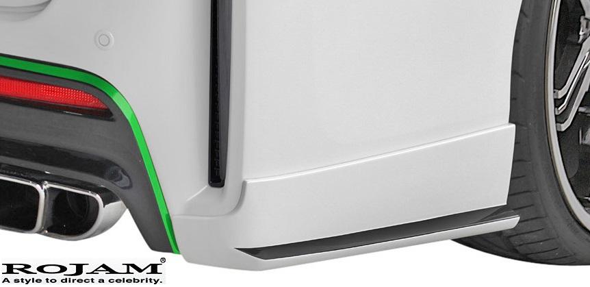 【M's】トヨタ ヴェルファイア 20系 G's (2012/11-2014/12) ROJAM VERDE リアコーナーパネル//FRP ロジャム ヴェルデ エアロ TOYOTA VELLFIRE ベルファイア 20ベルファイア 20ヴェルファイア ANH20W GGH20W 23-rcp-ve20g