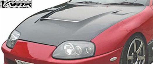 【M's】トヨタ スープラ JZA80 (1993y-2002y) VARIS クーリング ボンネット//VBTO-123 FRP製 バリス TOYOTA SUPRA A80 エアロ ボンネット エアダクト 受注生産
