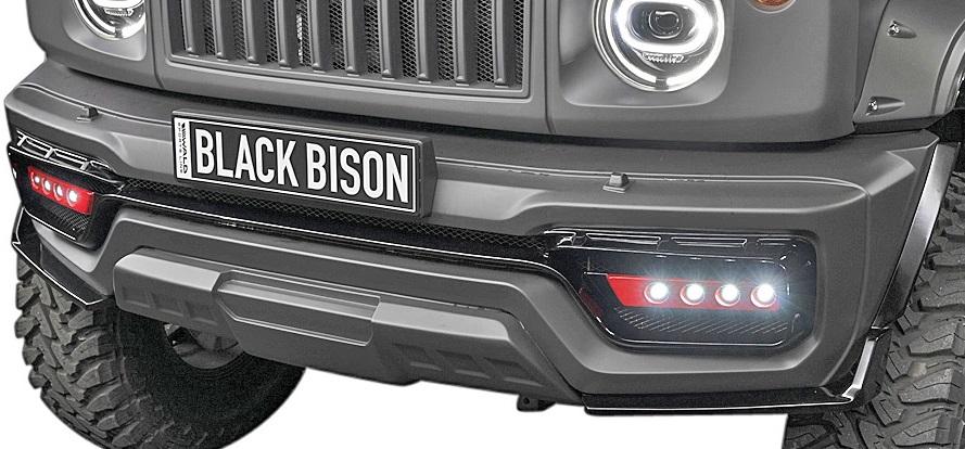 【M's】スズキ ジムニー/ジムニーシエラ (H30.8-)WALD Black Bison LEDランプ (フロントバンパー用)//ヴァルド バルド ブラックバイソン エアロ LEDフォグ SUZUKI JIMNY 新型 東京オートサロン2019 SUV部門 最優秀賞