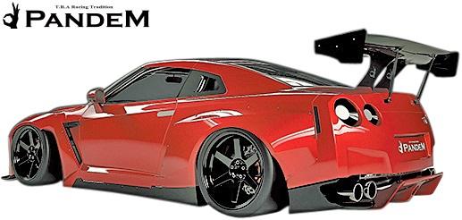 【M's】NISSAN R35 GT-R PANDEM ディフューザー(サイド)//FRP TRA京都 パンデム ロケットバニー ロケバニ エアロ リアディフューザーサイド ニッサン 日産 スカイライン GTR Wide body kit