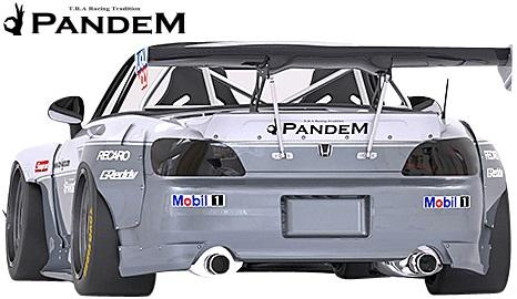 【M's】ホンダ S2000 AP1/AP2 (1999y-2009y) PANDEM GTウイング//FRP TRA京都 パンデム エアロ F1ウイング 大型ウイング Wide body kit