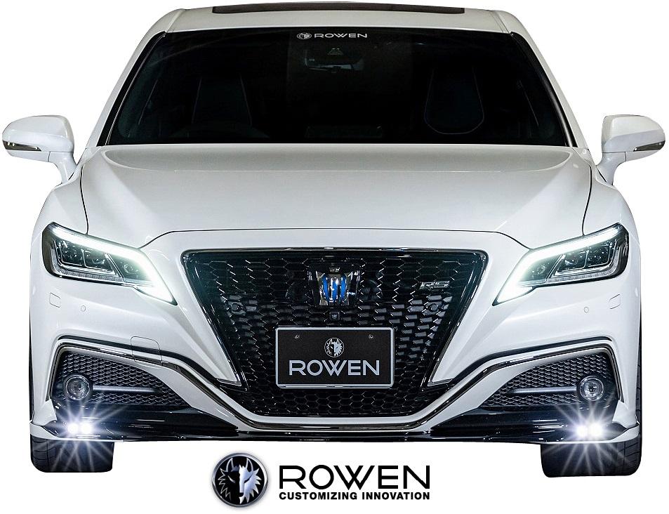 【M's】トヨタ 220 クラウン RS (2018.06-) ROWEN フロントスポイラー (LED付)//FRP製 エアロ フロントリップスポイラー TOYOTA 200系 220クラウン クラウン220 220CROWN 22クラウン クラウンRS ロウェン ロエン ローウェン ローエン 新型 現行型 1T036A00