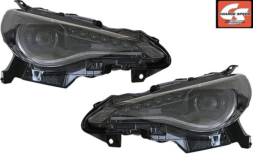【M's】トヨタ 86(ZN6) スバルBRZ(ZC6) CHARGE SPEED LEDヘッドライト 左右 (流れるウインカー付)//025310 チャージスピード 撃速 ハチロク TOYOTA SUBARU LEDライト LEDランプ ライト ヘッドライト 6000K 6000ケルビン シーケンシャルウインカー