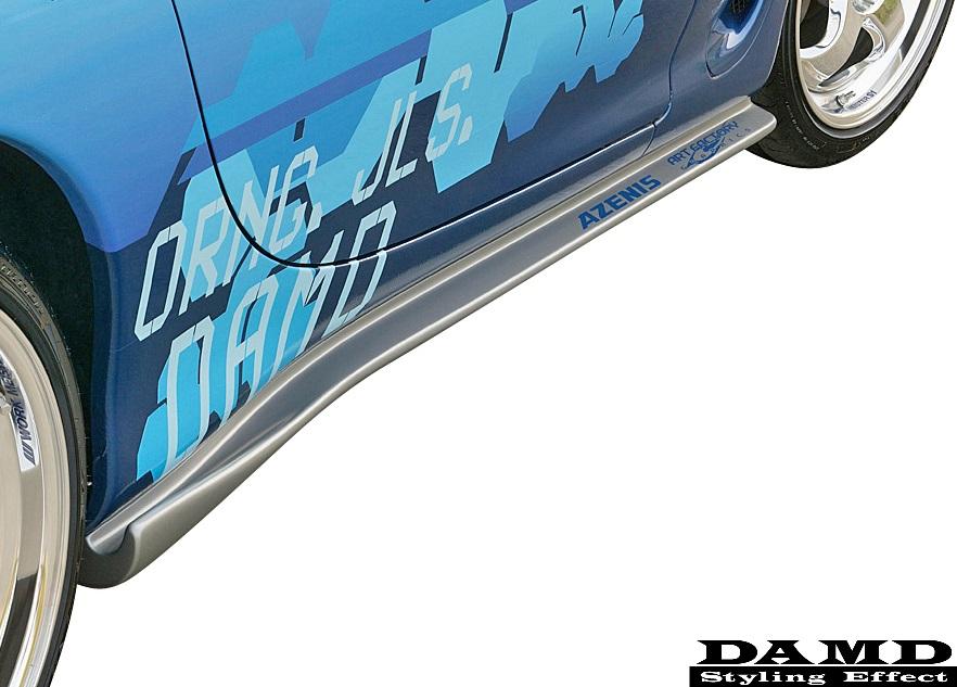 【M's】マツダ RX-7 FD3S (1991y-2002y) DAMD サイドエクステンション 左右//FRP製 ダムド スタイリングエフェクト MAZDA RX7 エアロ サイドステップ サイドエアロ サイドスカート セブン
