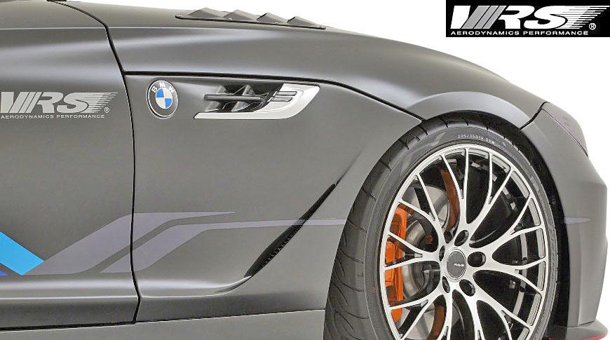 【M's】E89 BMW Z4 (2009y-2016y) VRS フロントフェンダーパネル 左右//FRP製 VARIS バリス エアロ エアロパーツ フェンダー VAB-8915 VAB8915