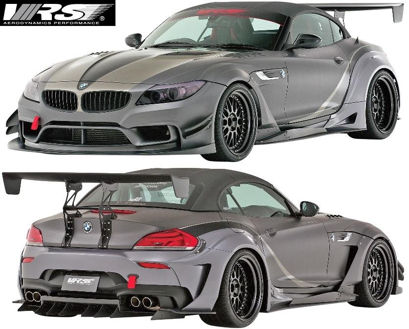 【M's】E89 BMW Z4 GT Anniversary Edition (2009y-2016y) VRS ワイドボディキット 8点 //バリス VARIS エアロ フルエアロ フルキット エアロキット エアロパーツ オーバーフェンダー ワイドフェンダー FRP CARBON VSDC カーボン VAB-8901 VAB8901
