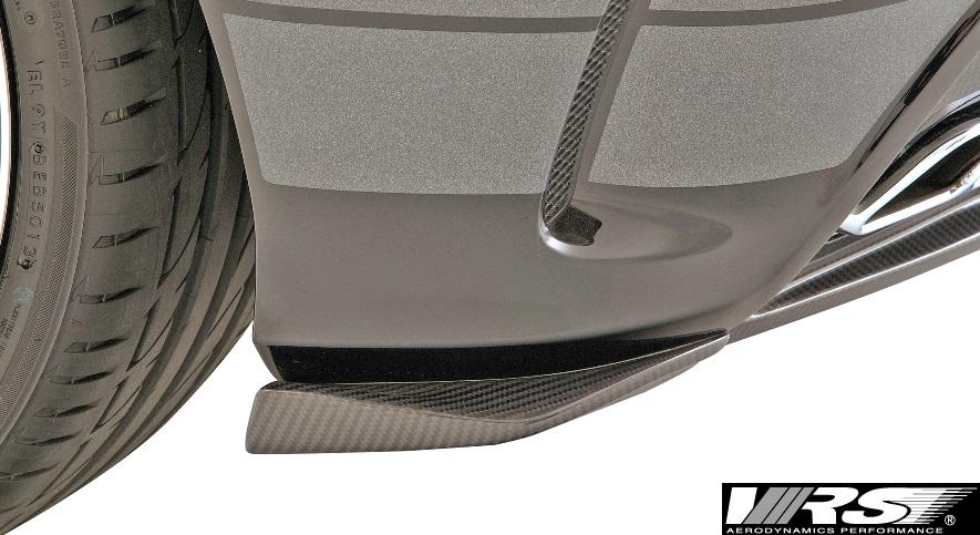 【M's】W176 A45AMG (2013y-2018y) VRS フリッパー 左右 (純正リアバンパー専用)//CFRP カーボン バリス VARIS AMG A45 ベンツ BENZ Aクラス エアロ VAM-4512