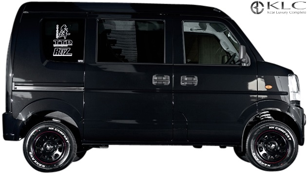 【M's】スズキ エブリイ (DA64V) KLC 轟 アップサス 1台分(35mmUP)//トドロキ ハイリフトサス リフトアップサスペンション アゲカスタム スプリング サス SUZUKI EVERY エブリー エブリィ 車高を上げる 車検対応品