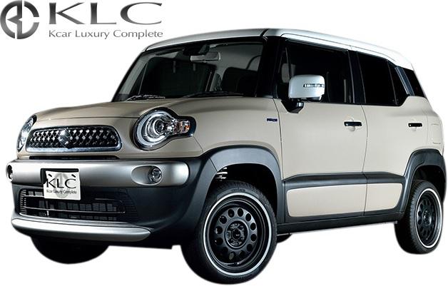 【M's】スズキ クロスビー (MN71S) KLC 轟 アップサス 1台分(25mmUP)//トドロキ ハイリフトサス リフトアップ サスペンション アゲカスタム スプリング サス アップスプリング SUZUKI XBEE 車高を上げる 車検対応品
