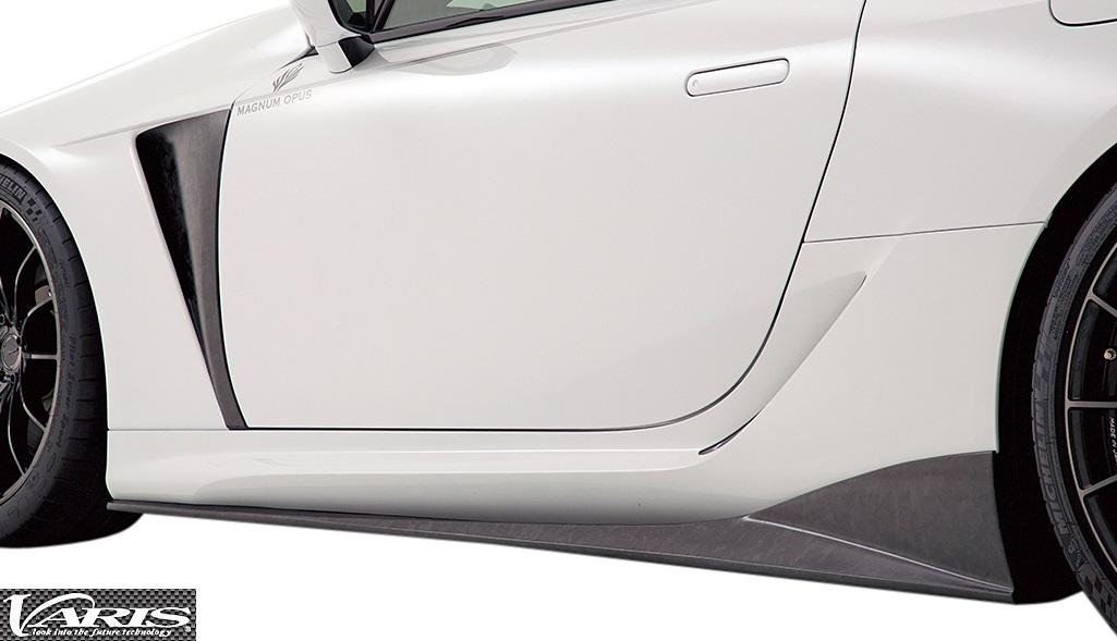【M's】レクサス LC (2017.3-) VARIS MAGNUM OPUS サイドスカート 左右//バリス 3K-CARBON カーボン エアロ サイドステップ サイドエアロ LEXUS LC500 LC500h URZ100 GWZ100 VALE012