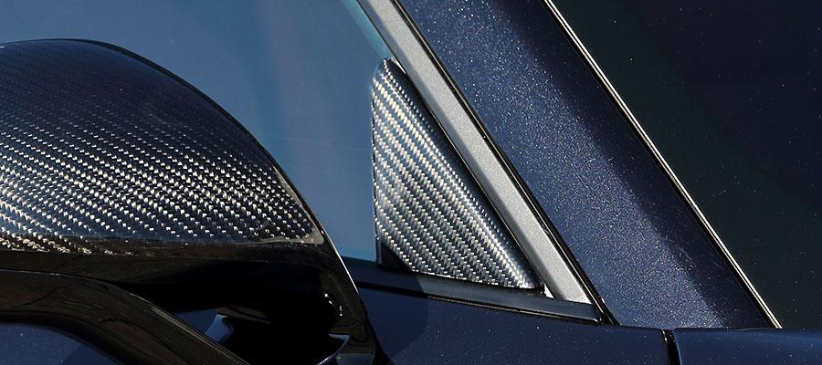 【M's】ポルシェ 911 991 TURBO/TURBO-S (前期) ARTISAN SPIRITS O.F.K Edition カーボン ピラーカバー 2P//CARBON アーティシャンスピリッツ アーティシャン アーテシャン カスタム エアロ PORSCHE ポルシェ911 ポルシェ991 ターボ