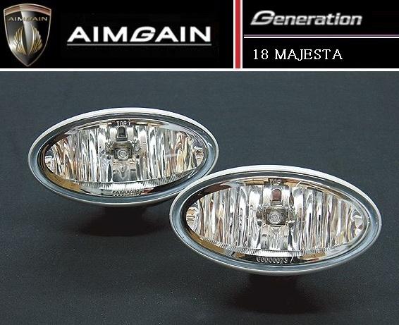 【M's】18 マジェスタ エアロ専用 フォグ ランプ type K / AIMGAIN/エイムゲイン // トヨタ TOYOTA MAJESTA UZS186 / Generation fog lamp