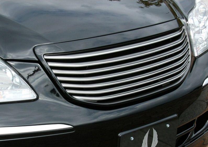 【M's】18 マジェスタ 前期(H16.7-H18.6)フロント グリル / AIMGAIN/エイムゲイン エアロ // トヨタ TOYOTA MAJESTA UZS186 / Generation front grille