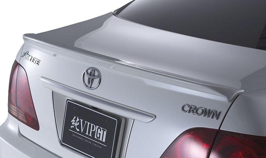 【M's】クラウン アスリート 18 後期(H17.10-H20.1)トランク スポイラー / AIMGAIN エアロ // トヨタ TOYOTA CROWN ATHLETE GRS 180 181 184 / 純VIP GT TRUNK SPOILER