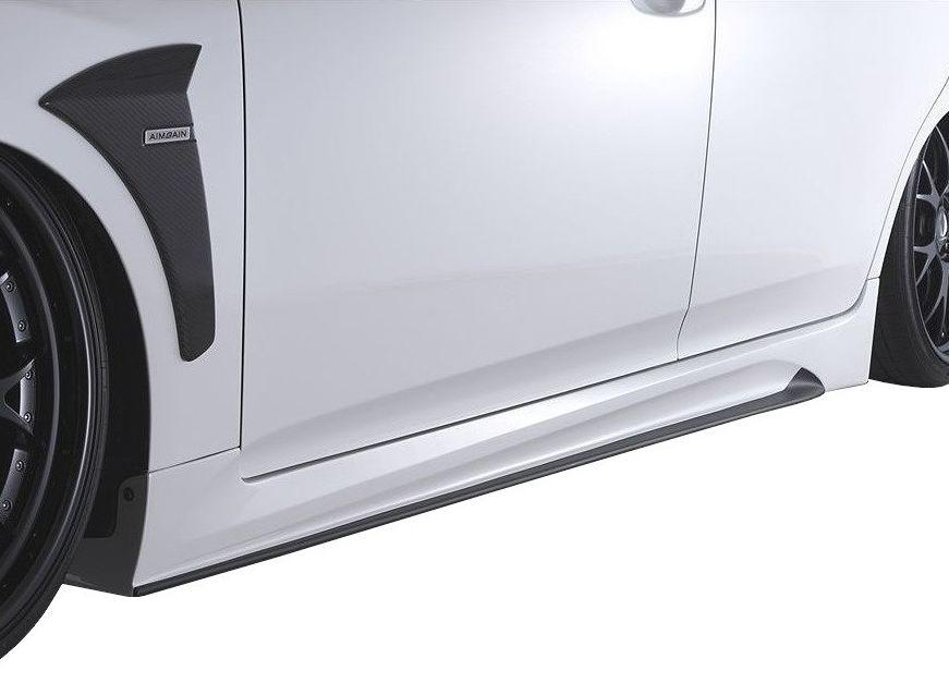 【M's】クラウン アスリート 200 後期(2010.2-2012.11)サイド ステップ / AIMGAIN // S スポイラー / トヨタ TOYOTA CROWN ATHLETE GRS 200 201 / 純VIP GT SIDE STEP