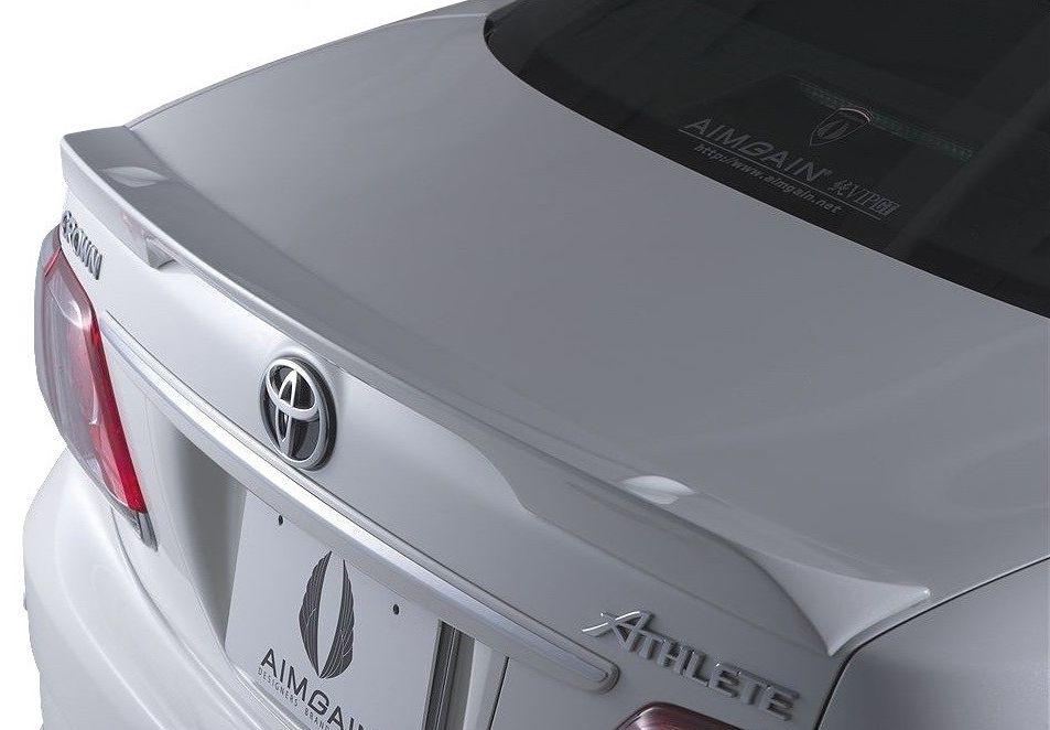 【M's】クラウン アスリート 200 後期(2010.2-2012.11)トランク スポイラー / AIMGAIN // トヨタ TOYOTA CROWN ATHLETE GRS 200 201 / 純VIP GT TRUNK SPOILER
