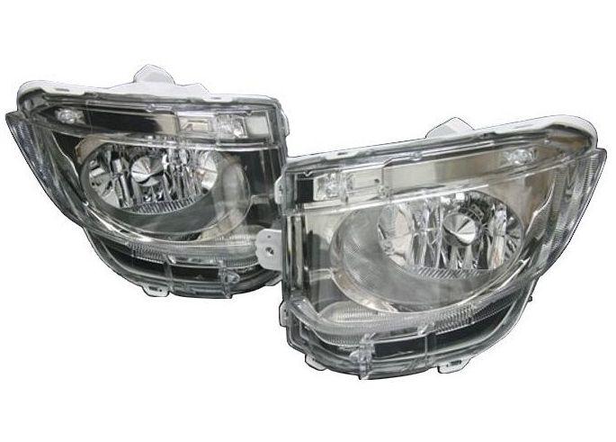 【M's】クラウン ロイヤル 200 後期(H22.2-H24.11)フォグ ランプ type LS / AIMGAIN エアロ専用 // トヨタ TOYOTA CROWN ROYAL GRS / 純VIP FOG LAMP
