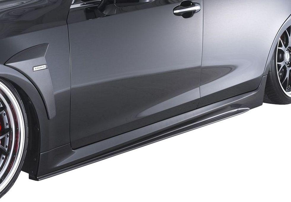 【M's】クラウン アスリート 210 前期・後期 サイド ステップ / AIMGAIN エアロ // トヨタ TOYOTA CROWN ATHLETE 210 / 純VIP GT SIDE STEP
