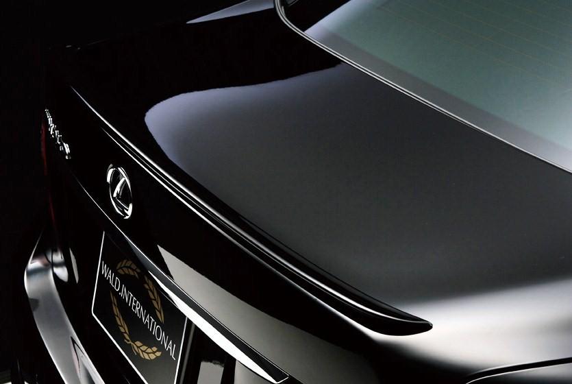 【M's】LEXUS レクサスLS (LS460/H21,9~ M/C後) WALD/ヴァルド Executive Line エグゼブティブライン トランクスポイラー(ABS製・素地)新品