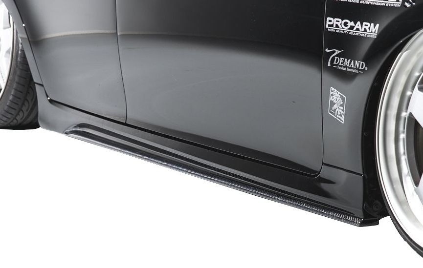 【M's】LEXUS GS 10 後期(H27.11-)サイド ステップ カーボン + FRP / AIMGAIN エアロ // レクサス 250 350 300h 450h / 純VIP EXE side step