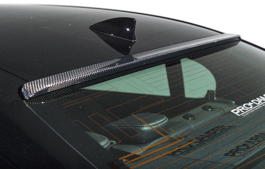 【M's】LEXUS GS 10 後期(H27.11-)ルーフ スポイラー カーボン + FRP / AIMGAIN エアロ // レクサス 250 350 300h 450h / 純VIP EXE roof spoiler