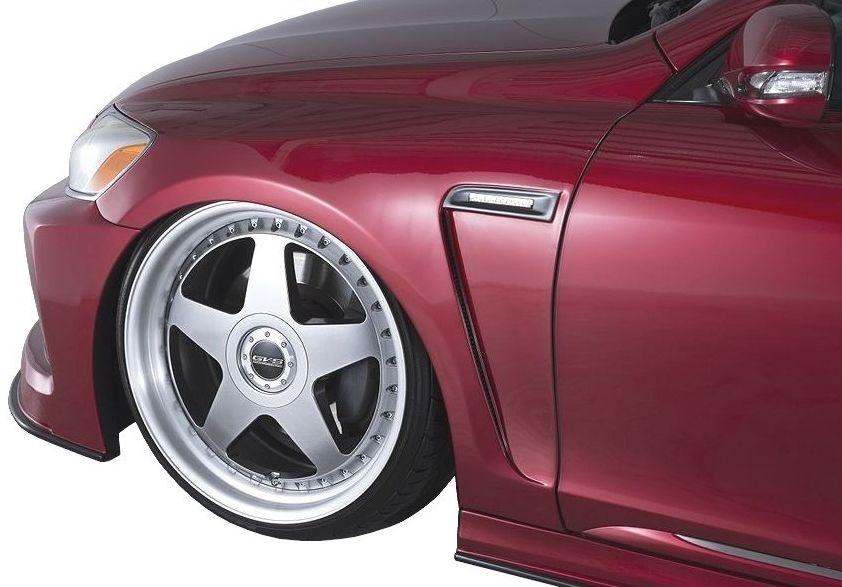【M's】レクサス GS 後期(2007.10-2011.12)S19# フロント フェンダー / AIMGAIN // LEXUS GS 350 460 450h / GRS 191 196 URS190 GWS191 / 純VIP GT FRONT FENDER
