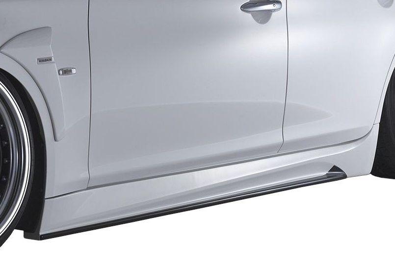 【M's】フーガ Y51 前期(H21.11-H27.2)サイド ステップ / AIMGAIN エアロ // 日産 NISSAN FUGA Y51 KY51 KNY51 MC before / 純VIP GT SIDE STEP
