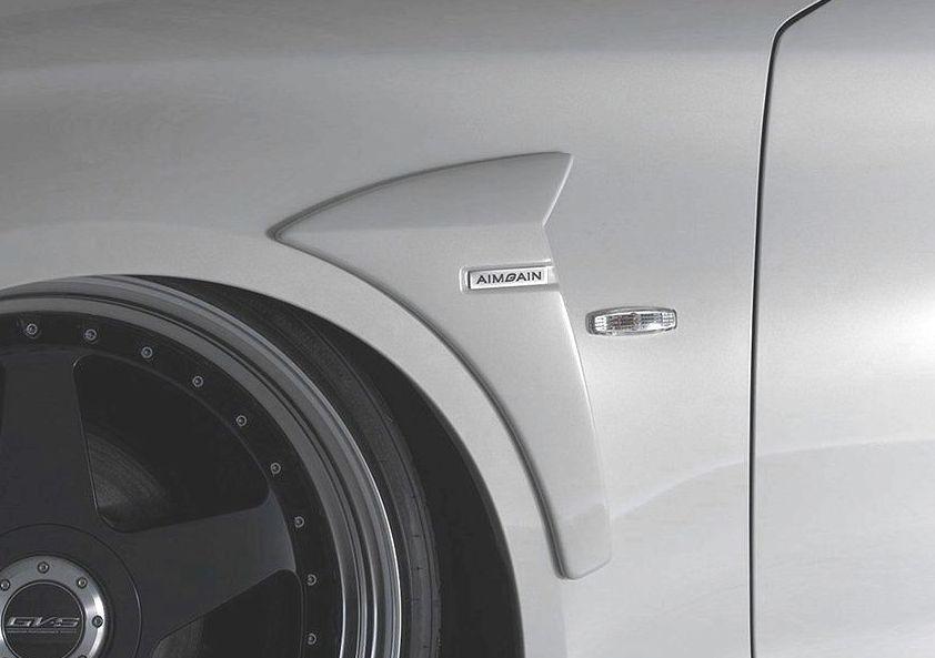 【M's】フーガ Y51 前期(H21.11-H27.2)フロント フェンダー パネル / AIMGAIN エアロ // 日産 NISSAN FUGA Y51 KY51 KNY51 MC before / 純VIP GT FRONT FENDER PANEL
