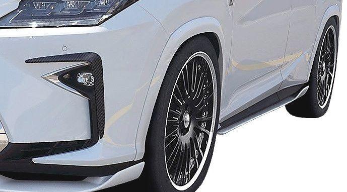 【M's】レクサス RX(H27.10~)オーバーフェンダー キット(片側 10mmワイド) / アーティシャン スピリッツ エアロ // ARTISAN SPIRITS BLACK LABEL Sports line LEXUS RX AGL GYL 20W 25W 新型