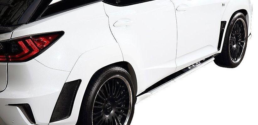【M's】レクサス RX(H27.10~)オーバーフェンダー キット(片側 30mmワイド) / アーティシャン スピリッツ エアロ // ARTISAN SPIRITS BLACK LABEL Sports line LEXUS RX AGL GYL 20W 25W 新型