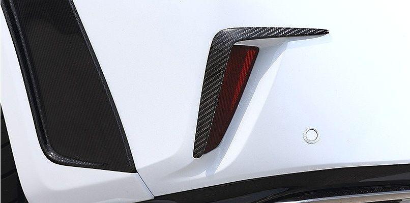 【M's】レクサス RX(H27.10~)リア バンパー ガーニッシュ / アーティシャン スピリッツ エアロ // ARTISAN SPIRITS BLACK LABEL Sports line LEXUS RX AGL GYL 20W 25W 新型 リヤ