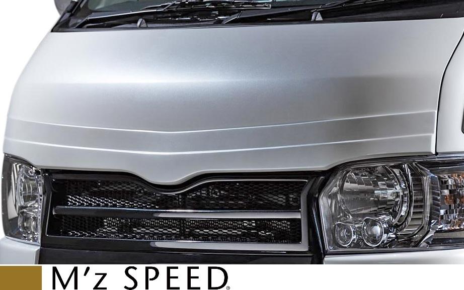 【M's】トヨタ 200系 ハイエース / レジアスエース (2013/12 -) M'z SPEED GRACE LINE フードトップモール//FRP製 エアロ エアロパーツ カスタム エムズスピード M's SPEED TOYOTA HIACE KDH200 TRH200 200ハイエース ハイエース200 3211-7112