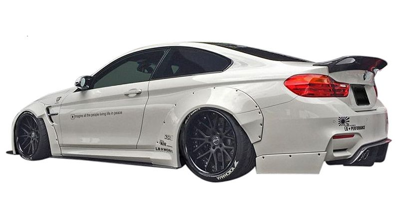 BMW M4 Coupe >> Bmw M4 Coupe F82 Lb Works Rear D Fuser Rear R デフューザー Lb Performance Lb Performance Body Kit Frp Liberty Walk One Piece Of Article