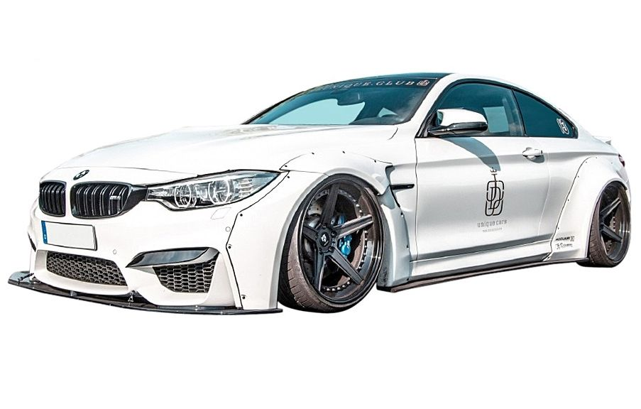 Bmw M4 Coupe F82 Lb Works Full Aero 5pcs Widebody Kit Front Rear Side Diffuser Trunk Spoiler And Fender Lb Performance Lb Performance