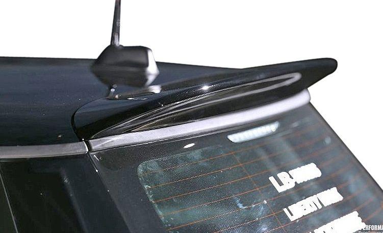 【M's】MINI R56 LB☆STANCE エアロ リア ウイング // リヤ R ウィング / ルーフ スポイラー / BMW ミニ クーパー LB☆PERFORMANCE WORKS Cooper Body kit FRP リバティウォーク